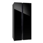 Холодильник HIBERG RFS-480DX NFGB, класс А+, 476 л, Side by Side, Total No Frost, чёрный