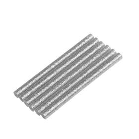 Стержни клеевые TOPEX 42E182, серебряные с блестками, 8x100 мм , 6 шт.