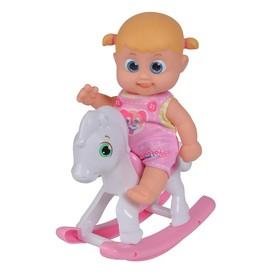 Кукла Bouncin' Babies «Бони», с лошадкой-качалкой, 16 см