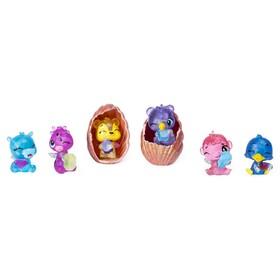 Игровой набор Hatchimals «Ракушка», шесть коллекционных фигурок