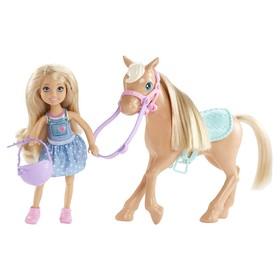 Кукла Barbie «Челси и пони»