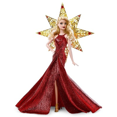 Кукла Barbie «Праздничная Barbie блондинка» - Фото 1