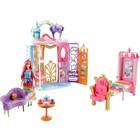 Игровой набор Barbie «Переносной радужный дворец»