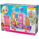 Игровой набор Barbie «Переносной радужный дворец», с куклой - Фото 14