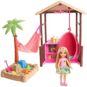 Игровой набор Barbie «Челси и хижина»