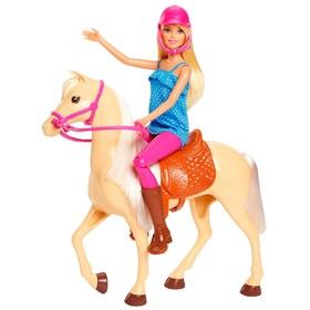 Игровой набор Barbie «Кукла и лошадь»
