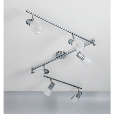 Светильник Поинт, 24Вт LED, 1920Lm, 4000K, хром