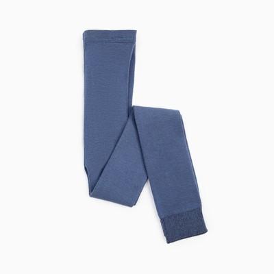 Леггинсы детские шерстяные, цвет джинс, рост 110-116
