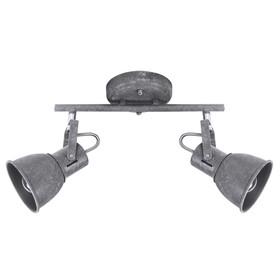 Светильник JOVI, 2x40Вт E14, серый