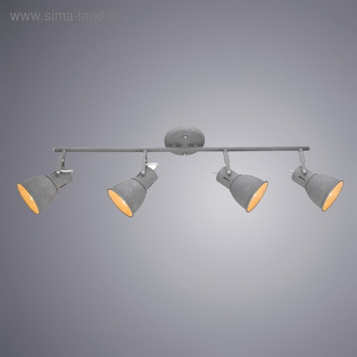Светильник JOVI, 4x40Вт E14, серый