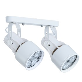 Светильник LYRA, 2x40Вт E27, белый