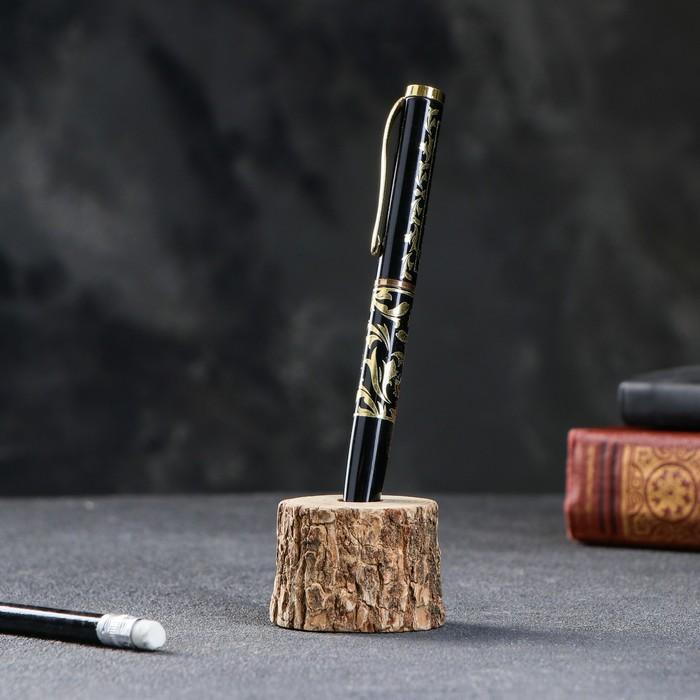 Подставка под ручку, d-3-4, h-3-4 см, массив дуба, микс