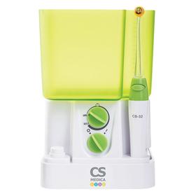 Ирригатор полости рта CS Medica KIDS CS-32, детский, 20 Вт, 850 мл, бело-зелёный