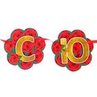"""Гирлянда """"С Юбилеем!"""" вырубка, красные розы, размер карточки 11 х 11 см - Фото 2"""