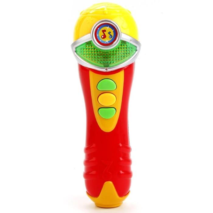 Микрофон с песнями Шаинского, свет, звук, эффекты, 3 песни WS112CS-2