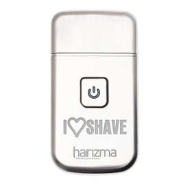 Электробритва (шейвер) Harizma Barber Shaver h10124, до 120 мин, серебристая