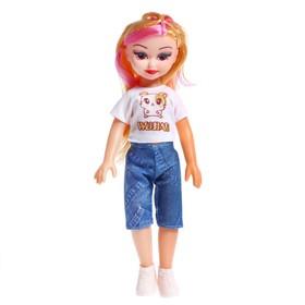 Кукла «Даша» в летней одежде, со звуковыми эффектами Ош