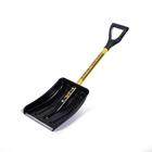 Лопата автомобильная пластиковая, ковш 250 ? 370 мм, с металлической планкой, металлический черенок, с ручкой, СПРИНТ «Актив-Авто»