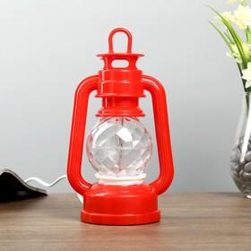 Ночник 'Часы' LED МИКС (красный,синий) 12x8,5x23 см Ош