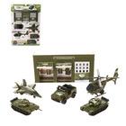Набор военной техники «Армия» 5 элементов техники и гараж