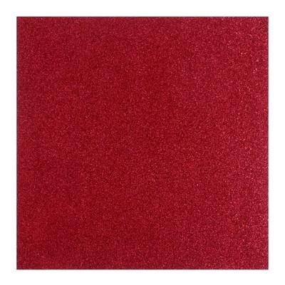 Кардсток с крупным глиттером American Crafts «Crimson» - 30.5х30.5 см