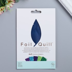 Набор листов фольги WRMK - FoilQuill  «Shining Starling» 10.16x15.24 см - 30 шт