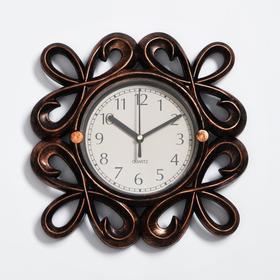 Часы настенные, серия: Интерьер, 'Манасса', 26х26 см Ош