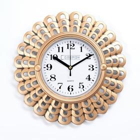 Часы настенные, серия: Интерьер, 'Мезита', 26х26 см Ош