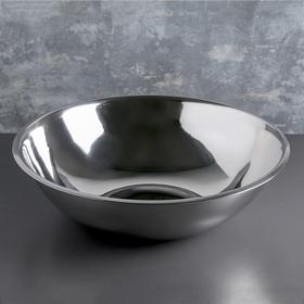 Таз, 12 л, d=44 см, нержавеющая сталь Ош