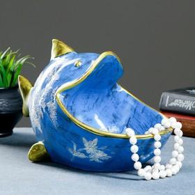 Шкатулка для мелочей 'Рыба' 21х32см Ош