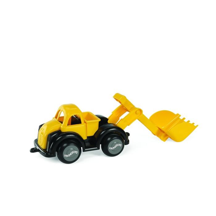 Машинка Vikingtoys «Экскаватор», с ковшом, жёлтая