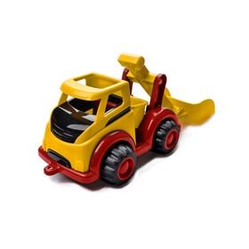Машинка MIGHTY «Экскаватор», с ковшом, жёлтая