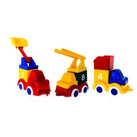 Игровой набор Vikingtoys «Построй три машинки»