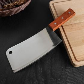 Топорик кухонный «Изгиб», лезвие 20,5 см
