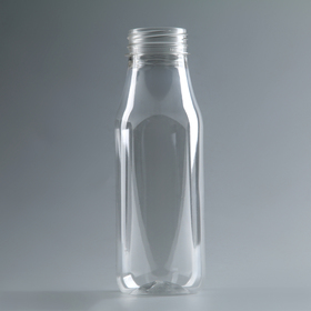 Бутылка молочная 0,3 л 'Универсал', прозрачная, с широким горлышком 0,38 мм Ош