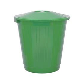 Бак хозяйственно-бытовой, 70 л, с крышкой, зелёный Ош