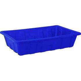 Паллет для отходов 1120х750х250 мм 150л синий Ош