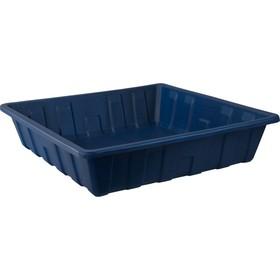 Паллет для отходов 1120х1120х250 мм 250л синий Ош