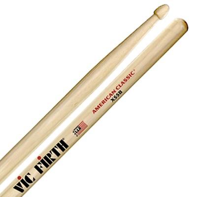 Барабанные палочки VIC FIRTH X55B удлиненные гикори, наконечник дерево