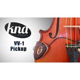 """Звукосниматель KNA VV-1 - для скрипки / альта, пассивный, разъем 1/4"""" джек"""