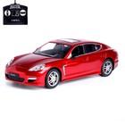 Машина радиоуправляемая Porsche Panamera, масштаб 1:14, работает от аккумулятора, цвет красный