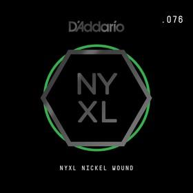 Отдельная струна для электрогитары Elixir NYNW076 NYXL никелированная, 076, D'Addario