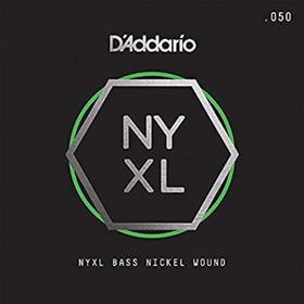 Отдельная струна для бас-гитары D'Addario NYXLB050 NYXL никелированная, 050