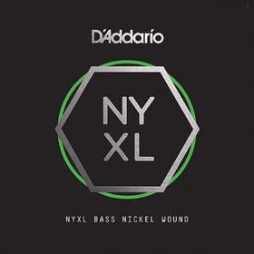 Отдельная струна для бас-гитары D'Addario NYXLB040 NYXL никелированная, 040