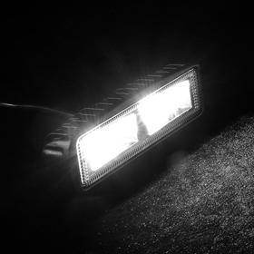 Противотуманная фара, 20 LED, IP67, 60 Вт, 12-24 В, направленный свет Ош