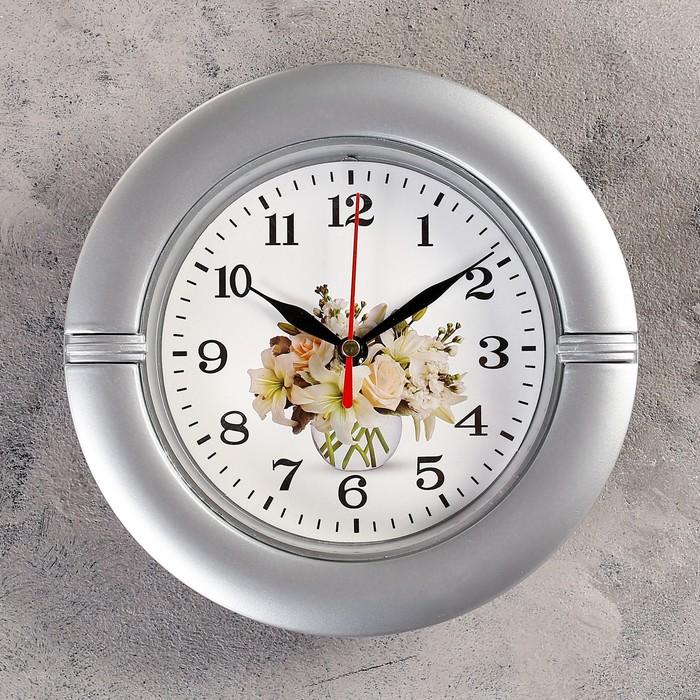 Часы настенные, серия Классика, Фузета, d19 см