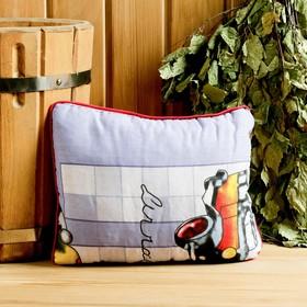 Подушка из стружки можжевельника, 29×24 см Ош