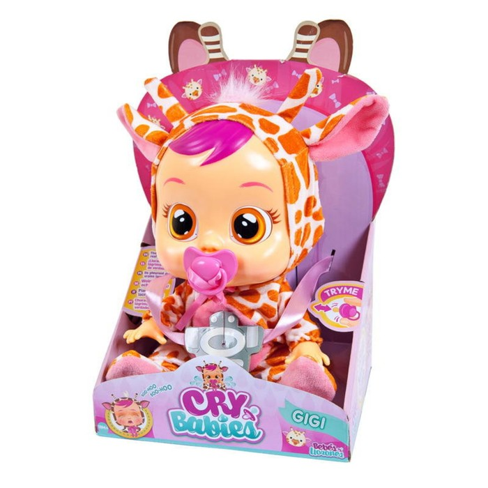 Кукла интерактивная «Плачущий младенец Gigi», 31 см