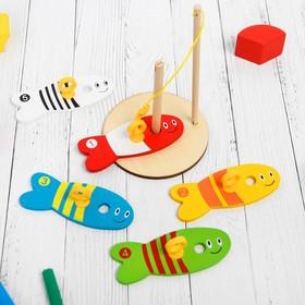 """Деревянная игрушка """"Рыбалка"""""""
