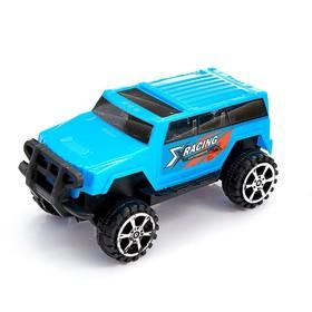 Машина инерционная «Джип» 4 x 4 см, цвета МИКС Ош